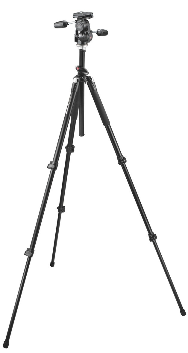 055XPROB Pro Tripod + 808RC4 3-Way Head