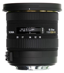 Sigma 10-20mm F3,5 EX DC HSM For Nikon